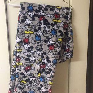 Disney Mickey Mouse Plush PJ Pants